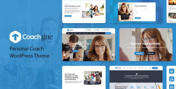 Wordpress Immobilien Template Coachgue - Personal Coach WordPress Theme