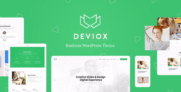 Wordpress Immobilien Template Deviox   A Trendy Multi-Purpose Business WordPress Theme