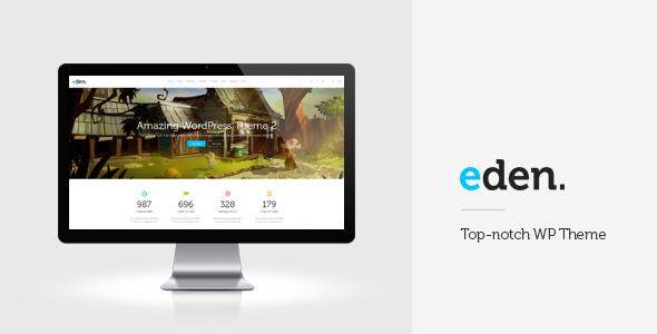 Wordpress Kreativ Template Eden - Retina Multi-Purpose WordPress Theme
