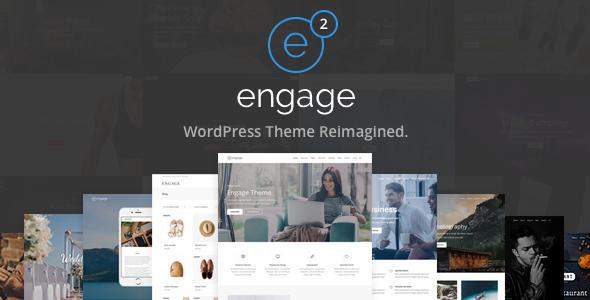 Wordpress Immobilien Template Engage - Responsive Multipurpose WordPress Theme
