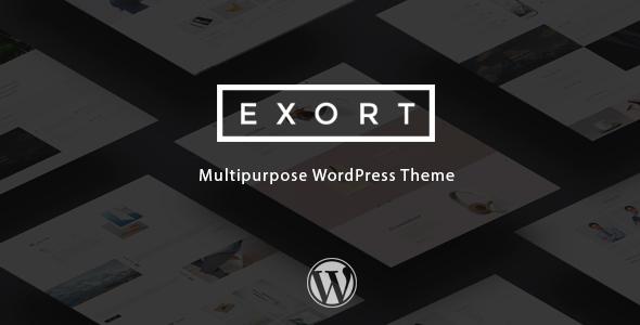 Wordpress Corporate Template Exort - Responsive Multi-Purpose WordPress Theme
