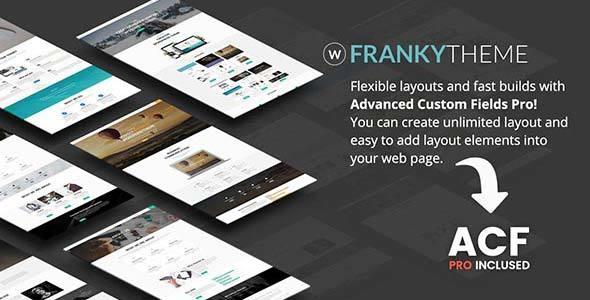 Wordpress Immobilien Template Franky | Multi-Purpose WordPress Theme