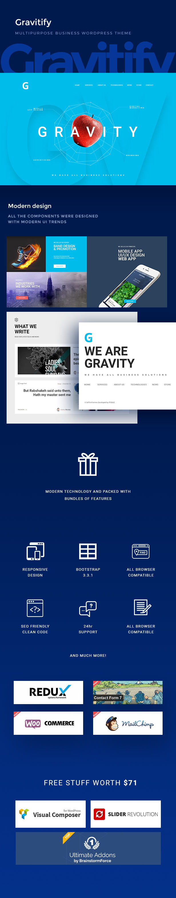 Gravitieren | Mehrzweck-Business-WordPress-Theme - 4