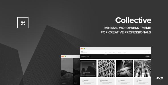 Wordpress Kreativ Template Collective - Minimal WordPress Theme