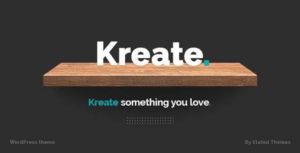 Wordpress Kreativ Template Kreate - Modern Creative Agency Theme