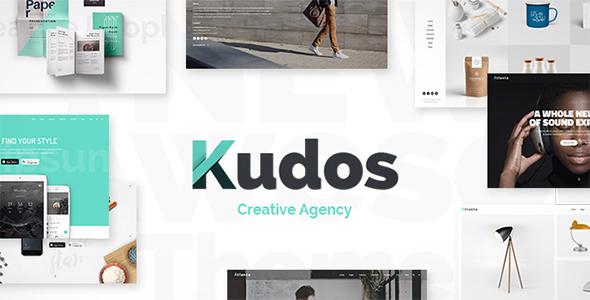 Wordpress Kreativ Template Kudos - Marketing Agency Theme
