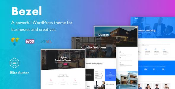 Wordpress Kreativ Template Bezel - Creative Multi-Purpose WordPress Theme