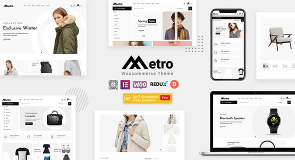 Wordpress Shop Template Metro – Minimal WooCommerce WordPress Theme