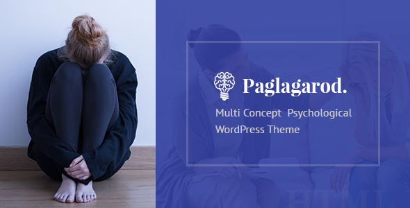 Wordpress Immobilien Template Paglagarod - Psychology & Counseling WordPress Theme