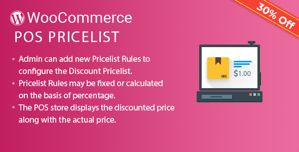 Wordpress E-Commerce Plugin Point of Sale Price Rule (Price list) for WooCommerce