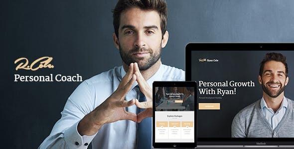 Wordpress Immobilien Template R.Cole | Life & Business Coaching WordPress Theme