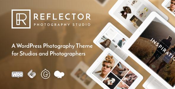 Wordpress Kreativ Template Reflector - Photography