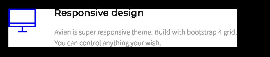 Sich anpassendes Design