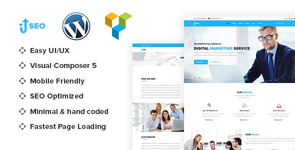Wordpress Corporate Template SEO - Marketing & SEO WordPress theme