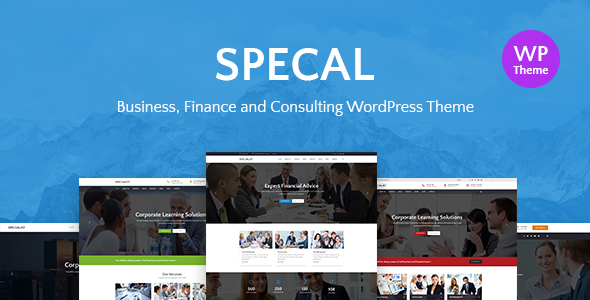 Wordpress Immobilien Template Specal - Financial, Consulting WordPress Theme