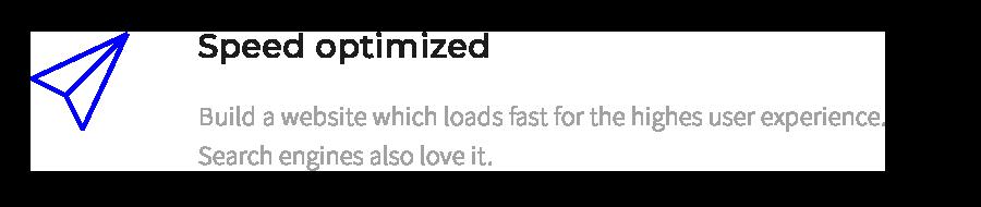 Geschwindigkeit optimieren
