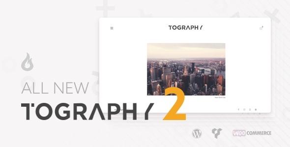 Wordpress Kreativ Template Tography - Photography Theme