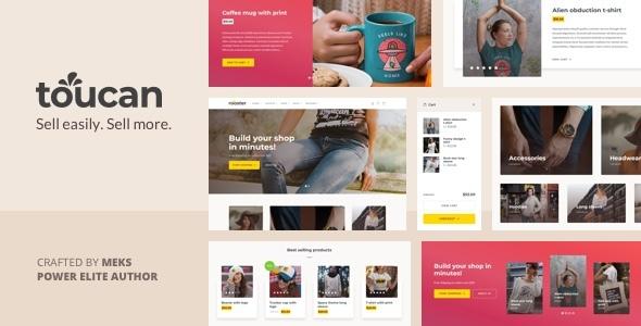 Wordpress Shop Template Toucan - WooCommerce theme for WordPress shop