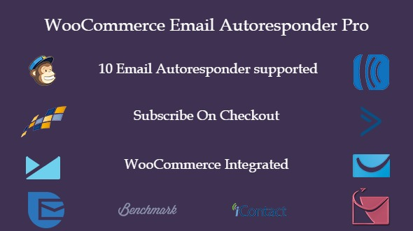 Wordpress E-Commerce Plugin WooCommerce email autoresponder pro