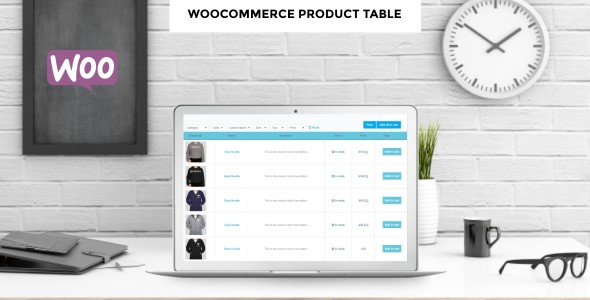 Wordpress E-Commerce Plugin WooCommerce Product Table