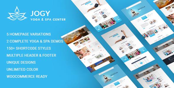 Wordpress Immobilien Template Yoga & Spa WordPress | Jogy