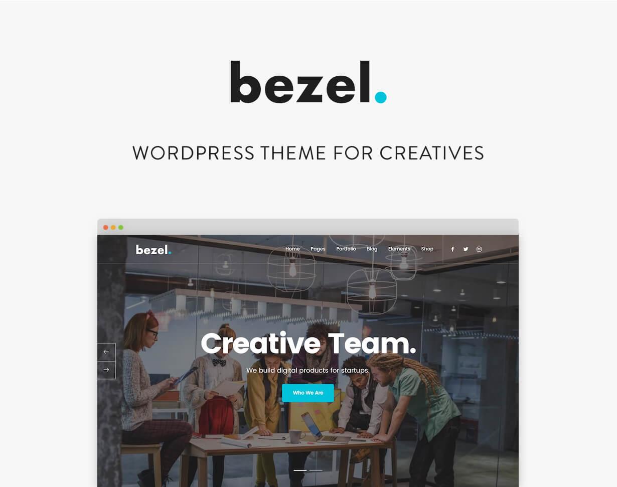Lünette - Kreatives Mehrzweck-WordPress-Theme - 1
