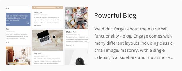 Engage - Responsive Multipurpose WordPress Theme - 30