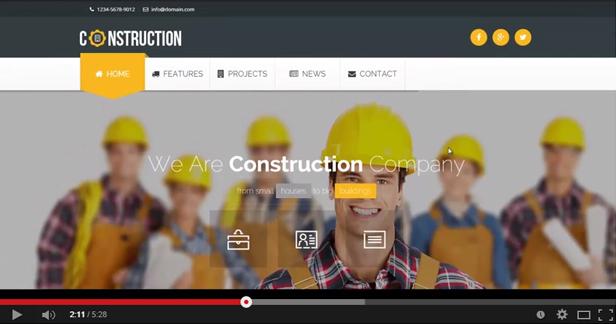 Konstruktion - Gebäude und Architektur WordPress Theme - 3