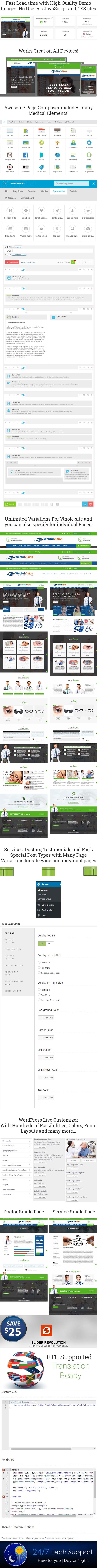 Optometrist WordPress-Theme