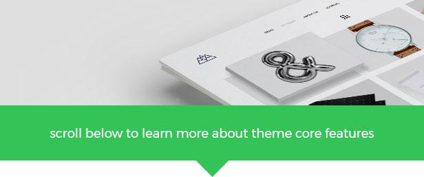 Portfolio, Agentur WordPress Theme - Berg - 1