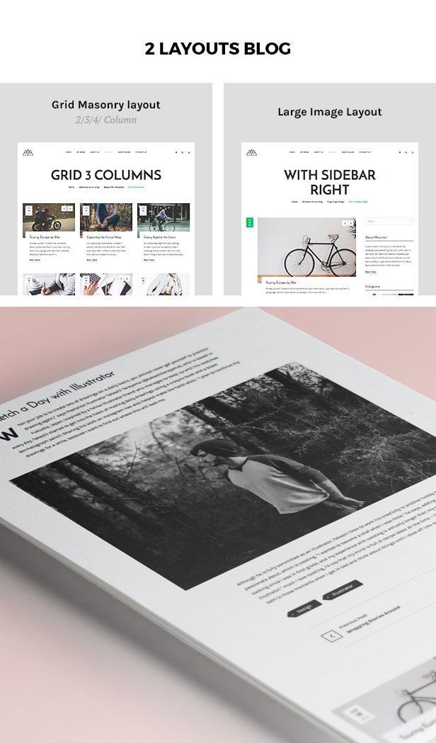 Portfolio, Agentur WordPress Theme - Berg - 3