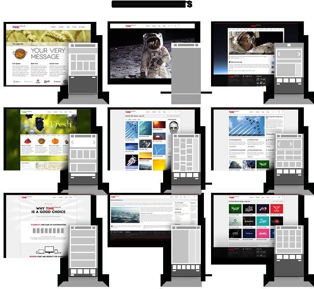 Zeit - Responsive WordPress Theme - 4