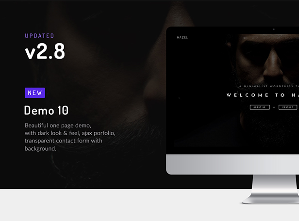 Ahorn   Sauberes minimales Mehrzweck-WordPress-Theme - 1