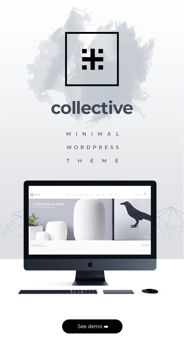 Kollektiv - Minimales WordPress-Theme - 1