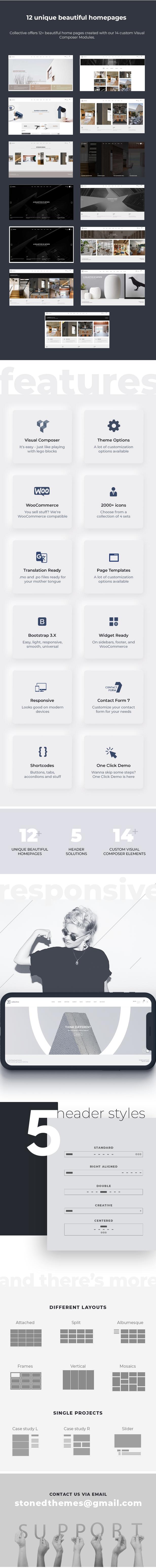 Kollektiv - Minimales WordPress-Theme - 2