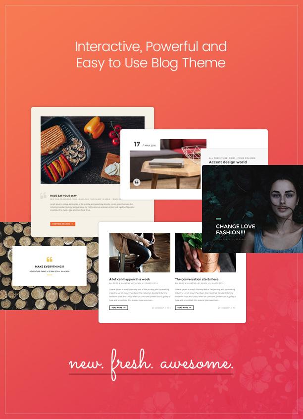 Paperio - Responsive und vielseitiges WordPress-Blog-Thema - 2