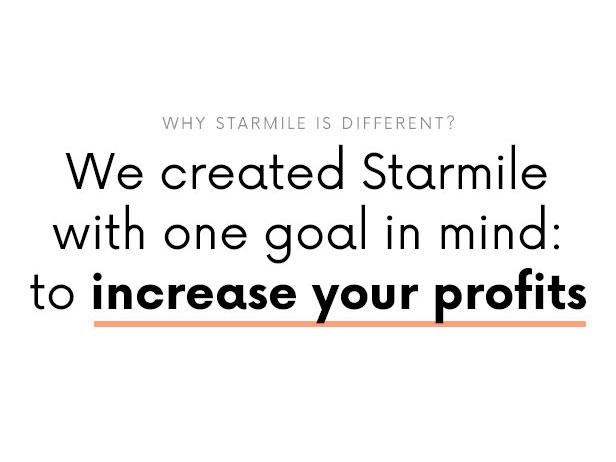 Starmile Blog Monetization WordPress Theme - Lösung