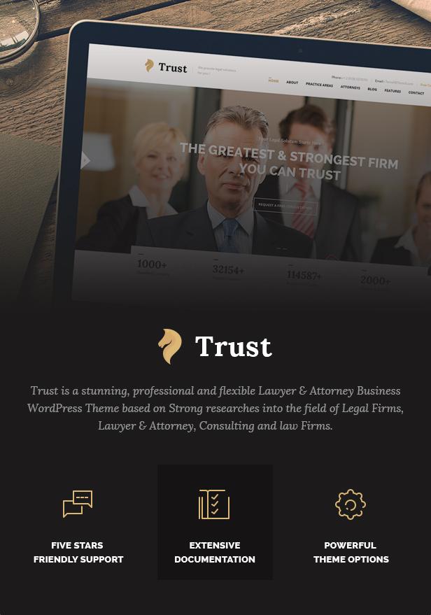 Trust Business - Anwalt und Anwalt WordPress Theme - 4