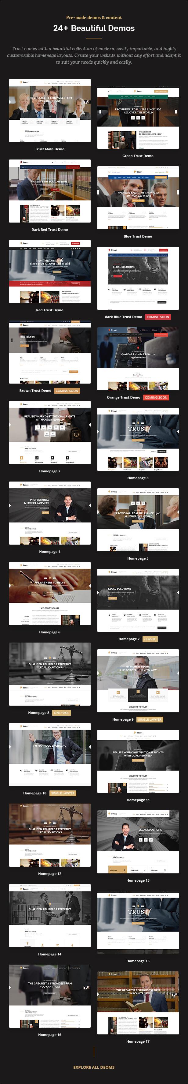 Trust Business - WordPress-Theme für Anwälte und Rechtsanwälte - 5