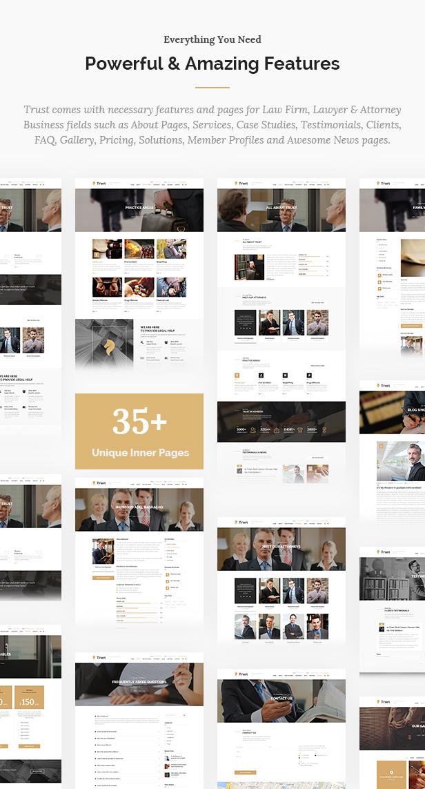 Trust Business - Anwalt und Anwalt WordPress Theme - 10