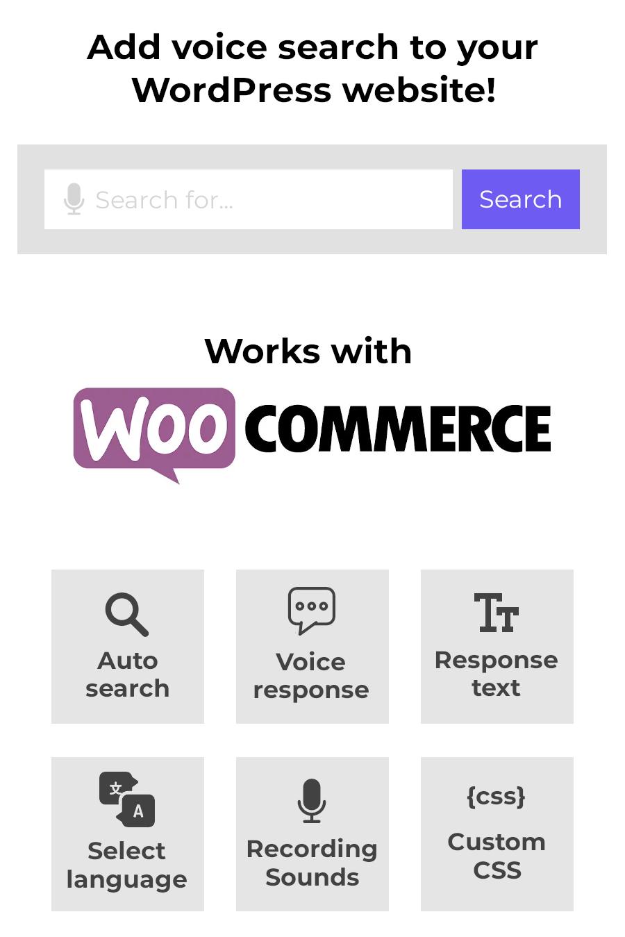 Stimme für die Suche nach WordPress & WooCommerce - 2