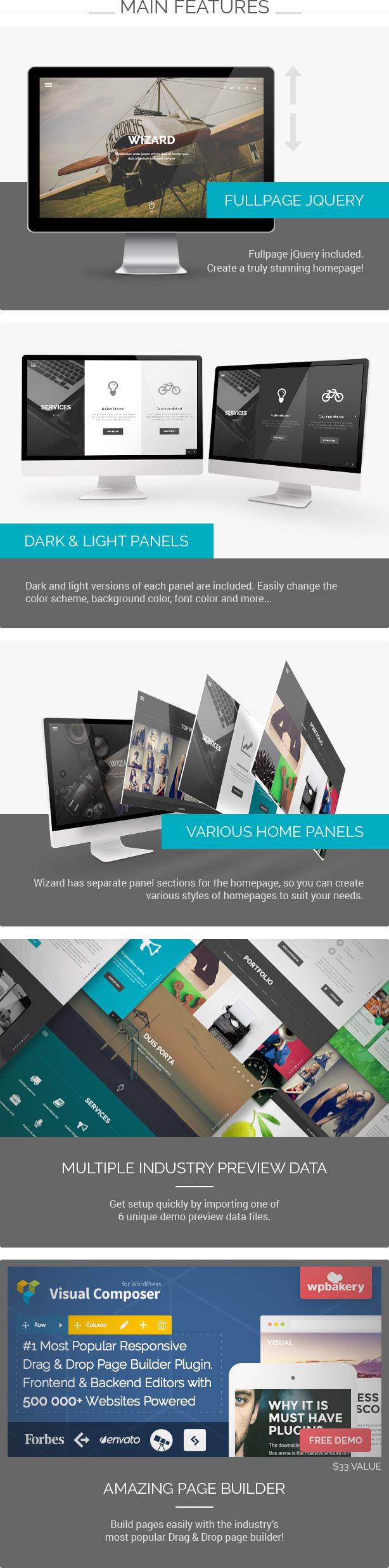 Assistent - Fullpage Portfolio WordPress Theme - 1