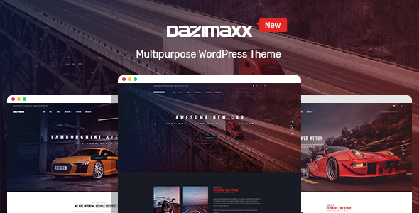 Wordpress Immobilien Template Car Dealer WordPress Theme - Dazimaxx