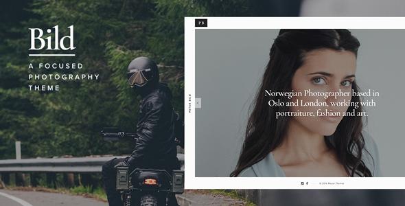 Wordpress Kreativ Template Bild — A Focused WordPress Photography Theme