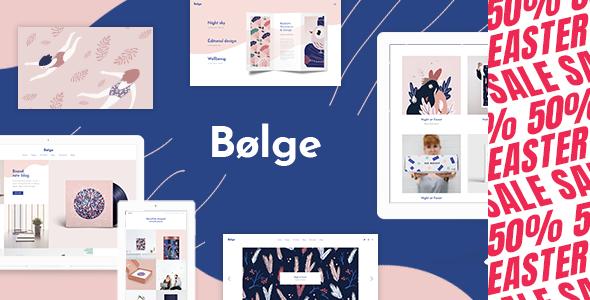 Wordpress Kreativ Template Bolge - Artist Portfolio Theme