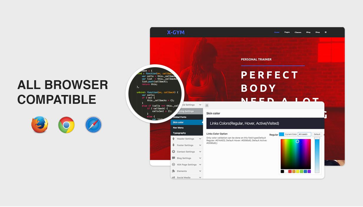 X-Gym - Fitness WordPress-Theme für Fitnessclubs, Fitnessstudios und Fitnesscenter - 9