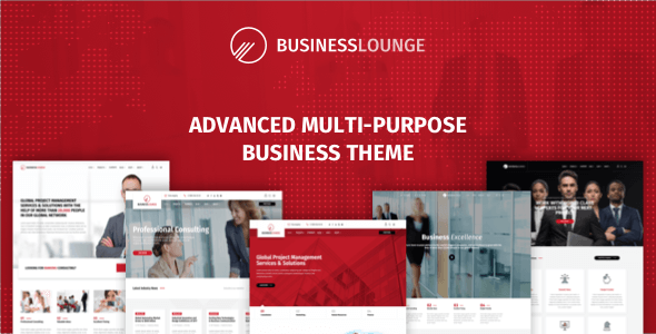 Wordpress Immobilien Template Business Lounge | Multi-Purpose Consulting & Finance Theme
