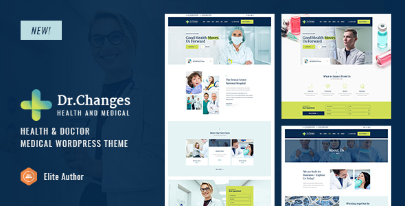 Wordpress Immobilien Template Dr.Changes - Doctor & Medical Clinic WordPress Theme