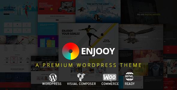 Wordpress Kreativ Template ENJOOY - Responsive Multi-Purpose WordPress Theme