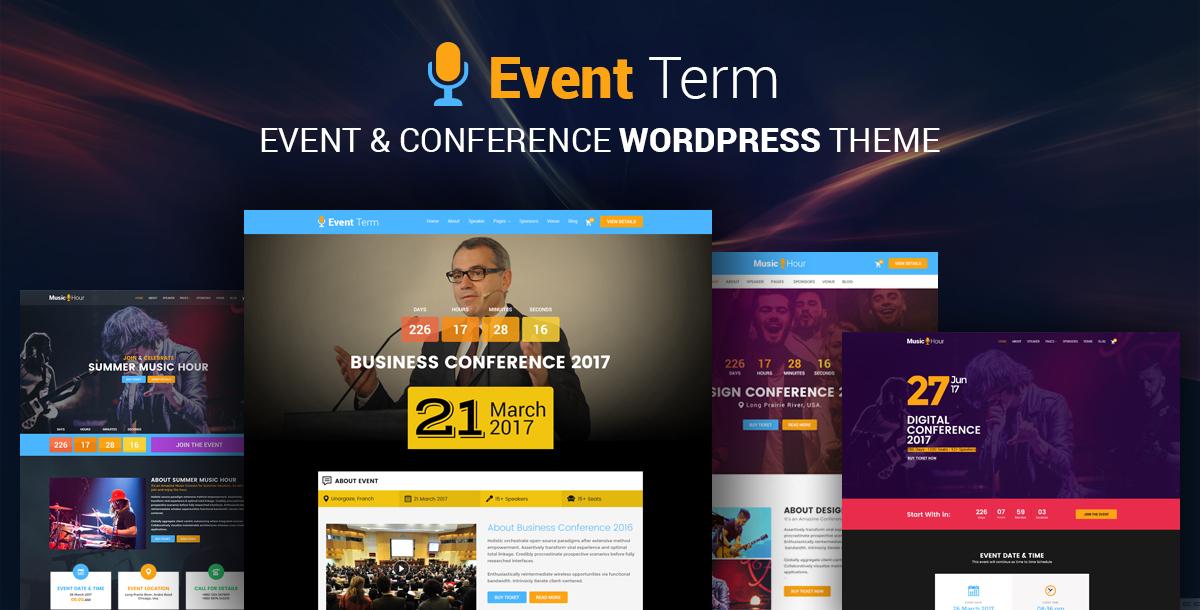Event Term- Event & Konferenz WordPress Theme